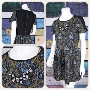 River Island Tapestry Necklace Stretch Dress